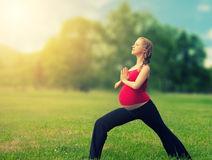 femme-enceinte-en-bonne-sant-faisant-le-yoga-en-nature-26378148