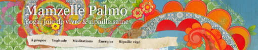Bandeau d'accueil du blog Mamzelle Palmo